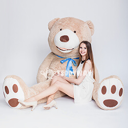 DHuge Giant Teddy Bears 260 CM - TEDDYWAY